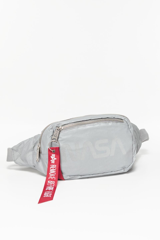 Nasa Waist Bag Reflective 911 SILVER