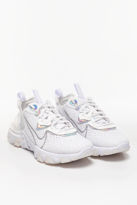 W NSW REACT VISION ESS CW0730-100 White/White/Particle Grey