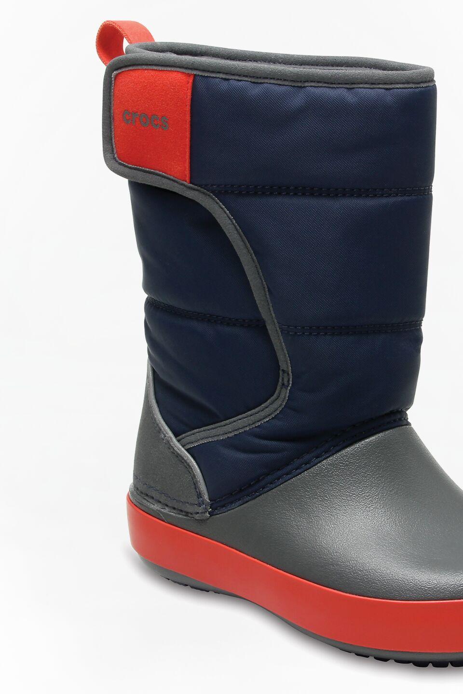 Kids Lodge Point Snow Boot Navy/Slate Grey