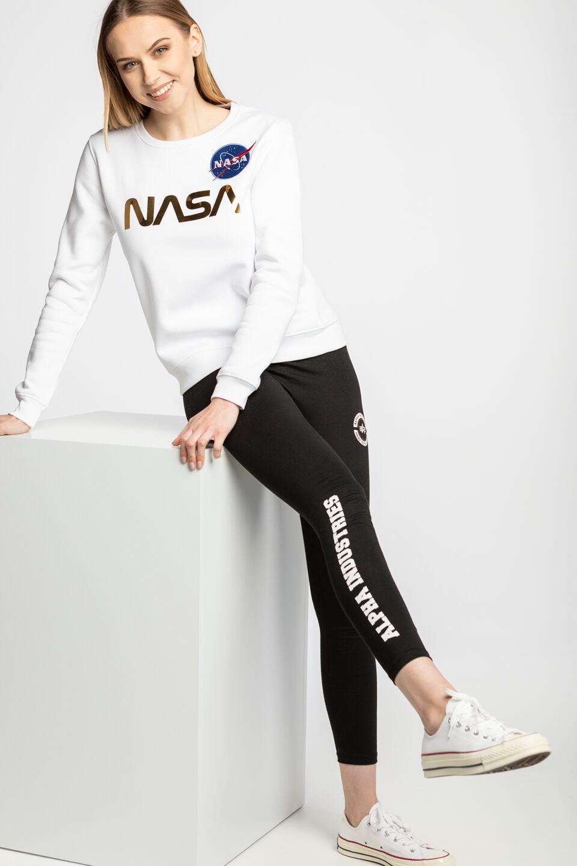 NASA PM Sweater Wmn 438 WHITE/GOLD