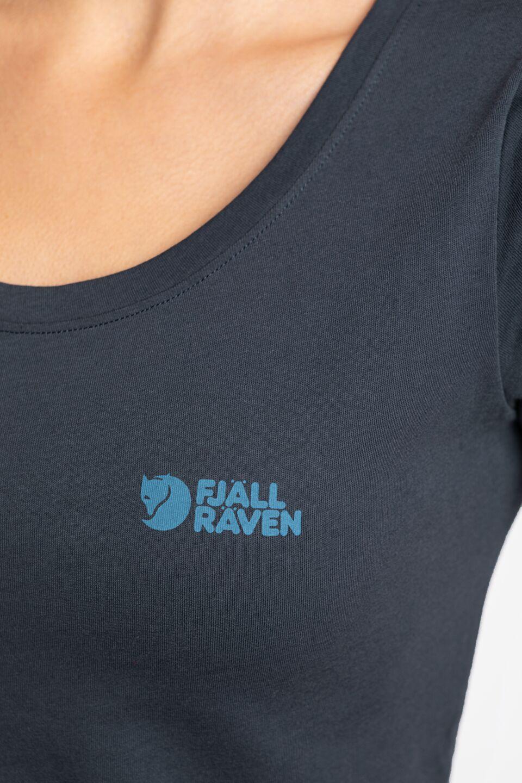 Fjällräven Logo T-shirt W 509 NAVY