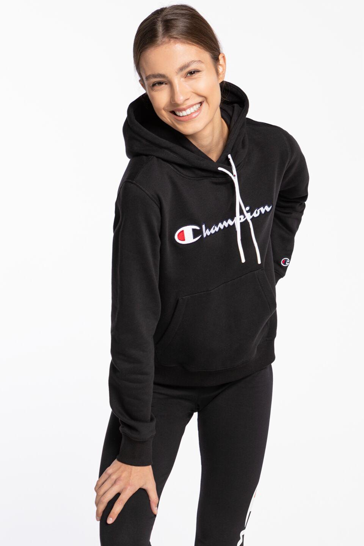 Hooded Sweatshirt 185 BLACK