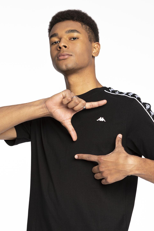 HANNO Men T-Shirt 011 BLACK