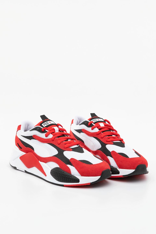 RS-X SUPER 01 PUMA WHITE/HIGH RISK RED