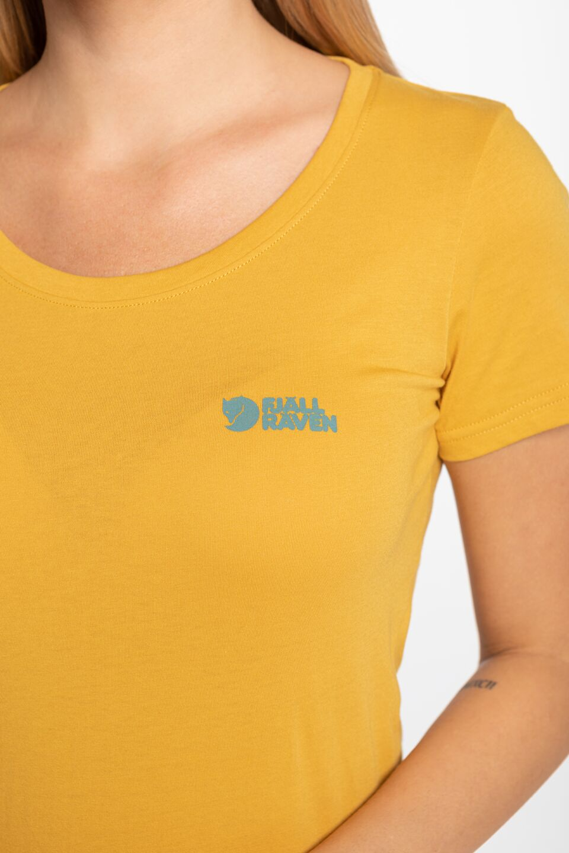 Fjällräven Logo T-shirt W 509 OCHRE