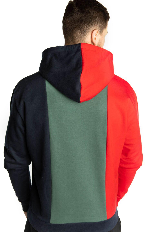 SIGNATURE BLOCK HOODIE 250 BLUE/GREEN/NAVY/YELLOW/RED/WHITE
