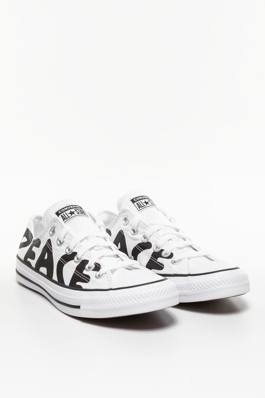 CHUCK TAYLOR PEACE 894 WHITE/BLACK/WHITE