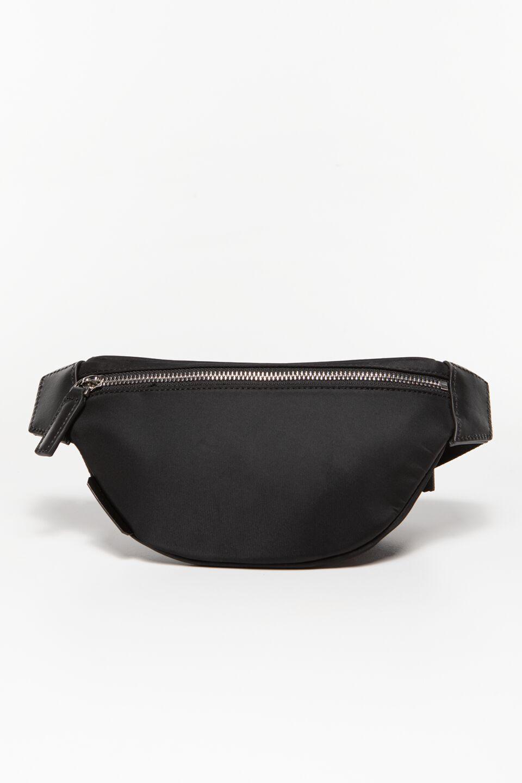 Ikonik Nylon Bumbag 016 BLACK / WHITE