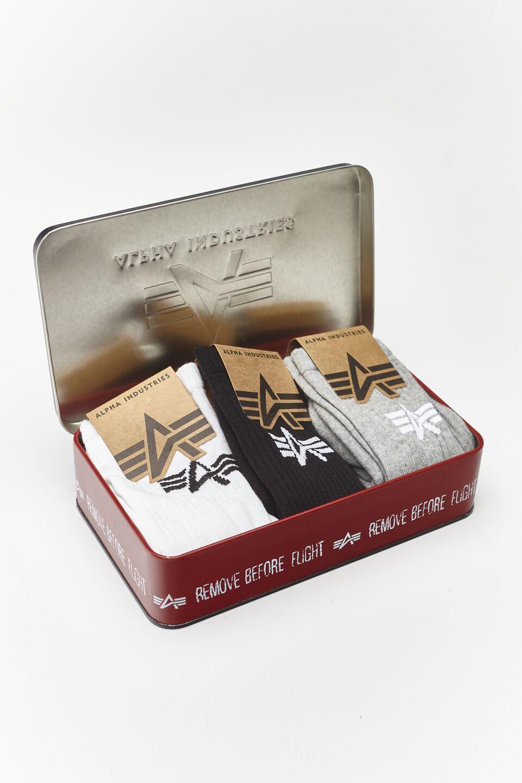 BASIC SOX BOX 442 MIXED COLORS