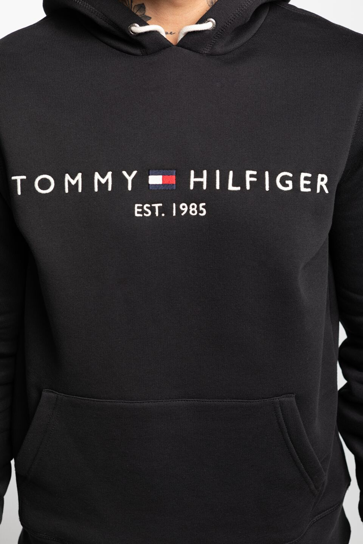 CORE TOMMY LOGO HOODY MW0MW10752-BAS BLACK