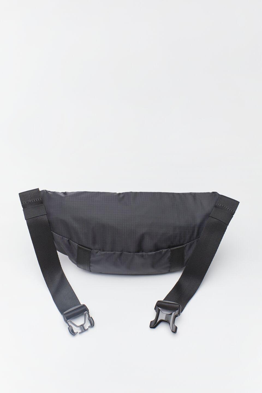 WHITE LOGO WAIST BAG 335 BLACK