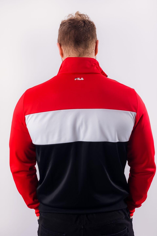 MEN BALIN TRACK JACKET A089 TRUE RED/BLACK/BRIGHT WHITE
