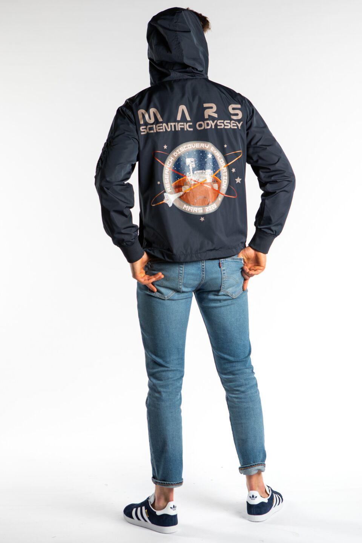 MARS MISSION ANORAK 07 REP. BLUE