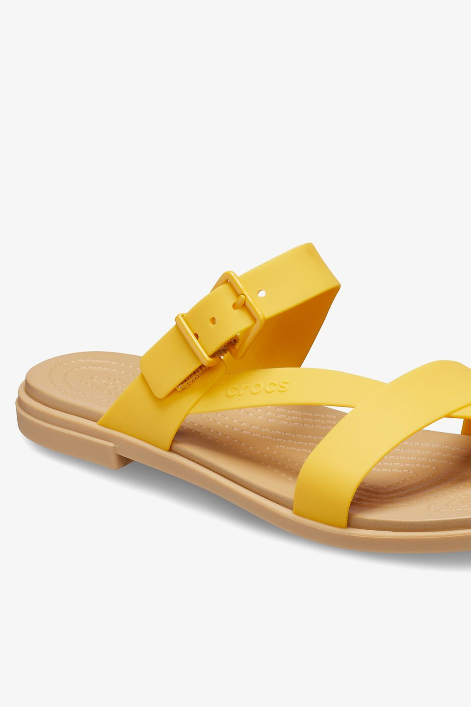 TULUM TOE POST SANDAL W 206108 CANARY/TAN