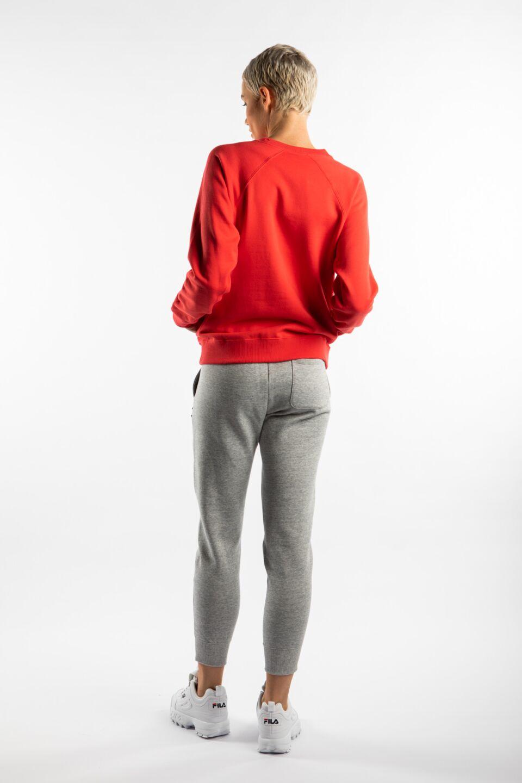 CREWNECK SWEATSHIRT PS118 RED