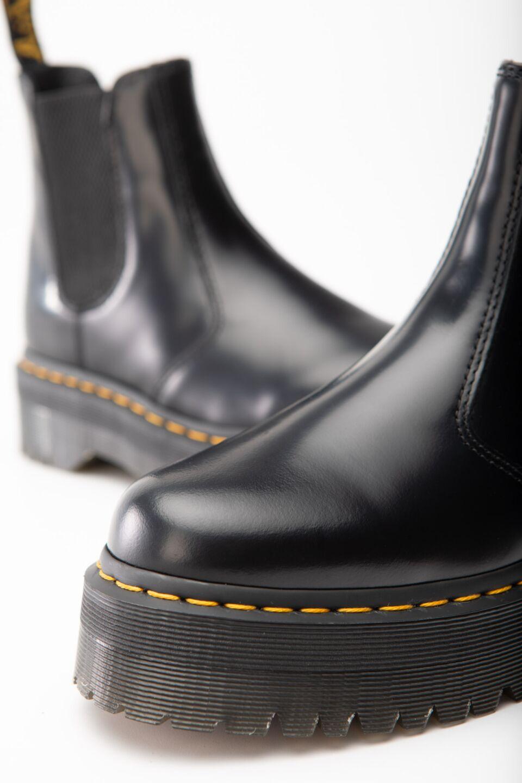 2976 PLATFORM CHELSEA BOOTS BLACK POLISHED SMOOTH