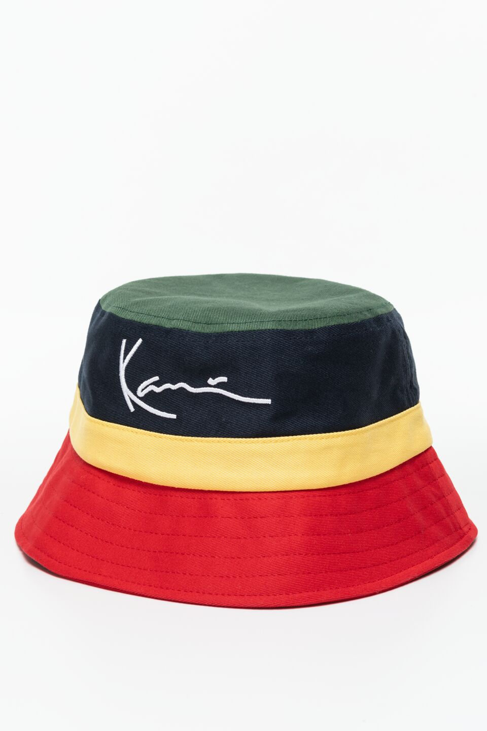 KARL KANI CAP 136 GREEN/NAVY/YELLOW/RED