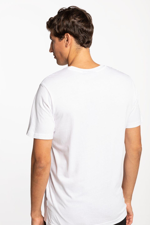 ORIGINAL LOGO T-SHIRT 001-3-09-01-0002 WHITE