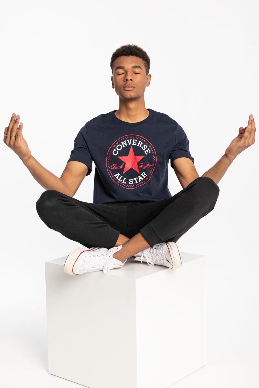 T-Shirt Chuck Patch 10007887-A02 NAVY
