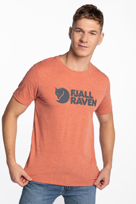 Logo T-shirt M F87310-333-999 ROWAN RED-MELANGE