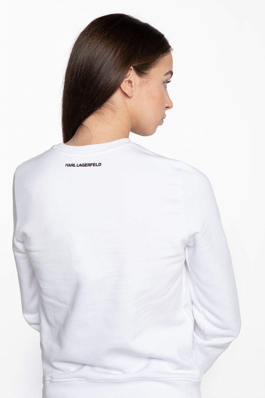Ikonik Karl Sweatshirt 205W1801-100 WHITE